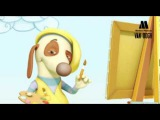 Van Dogh, cartoon for babies, toddlers and kids - EP11 PENGUIN TENNIS. Play to guess