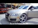 WTW Customs- 2012 Audi A7 on 22 Forcella Forgiatos