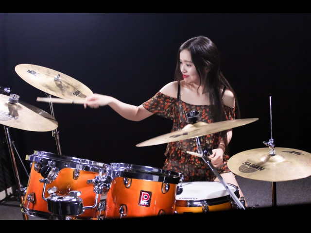 Bon Jovi - It's my life - Drum Covered by Mai Thơ