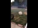 Неудачный эксперимент с летающим колесом