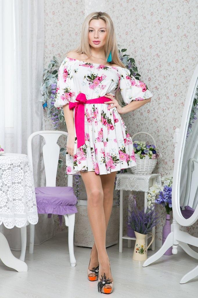 горловина на платье качели