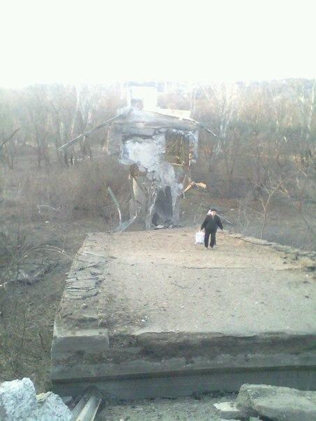 Старый мост через Донец Станица Луганская.