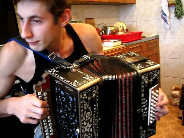 Танго Алексей Симонов Рязанский гармонист из 10 ки лучших в России