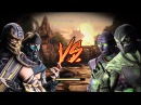 Mortal Kombat 9 (2011) - Scorpion and Sub-Zero's Tag Ladder Playthrough