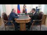 Владимир Путин обсудил с Дмитрием Медведевым оптимизацию структуры правительства - Первый канал