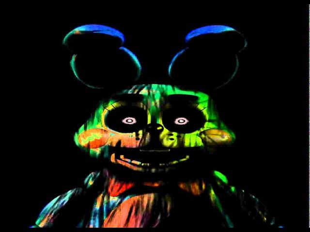 Phantom Toy Bonnie sings FNAF Song {Broken Voice Box}