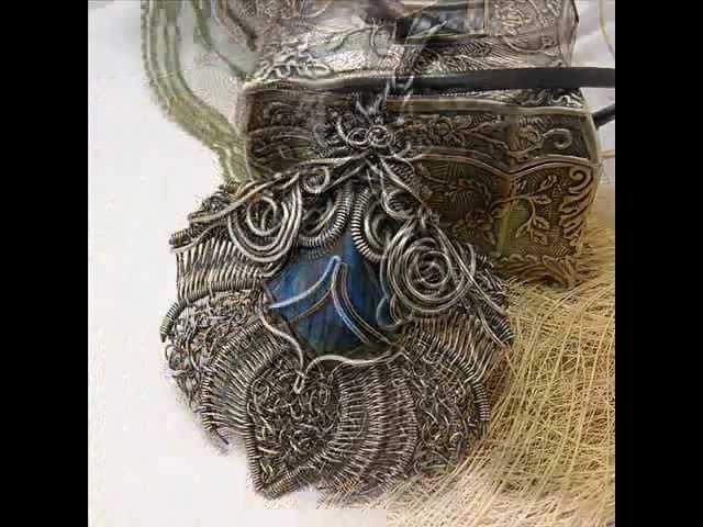 How I make wire wrapped jewelry Magdalena Marszalik Jak powstaje moja biżuteria wire wrapping