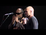 Sting and Stevie Wonder -