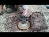 Установка и снятие противотанковой мины ТМ-62М с миной-ловушкой / Installation anti-tank mine TM-62M