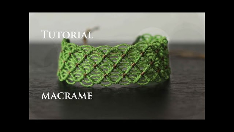Pulseras de hilo faciles anchas | friendship bracelet tutorial