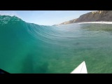 GoPro: Surfing at Blacks Nude Beach