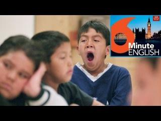 BBC 6 minute English - Dealing with boredom (transcript video)