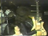 ANTHRAX 1982 GREG WALLS, NEIL TURBIN, GREG D'ANGELO, DANNY LILKER, SCOTT IAN ROSENFELD