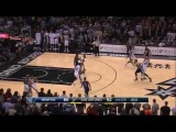 Marc Gasol's amazing game-tying three pointer at the buzzer vs San Antonio Spurs! (12.17.2014)