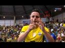 Gols Brasil 3 x 1 Paraguai - 3ª Rodada Grand Prix de Futsal 2015 (06/11/2015)