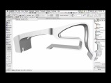 ArchiCAD- Shell Tool - Free Form Modeling of a Facade Element-High Resolution