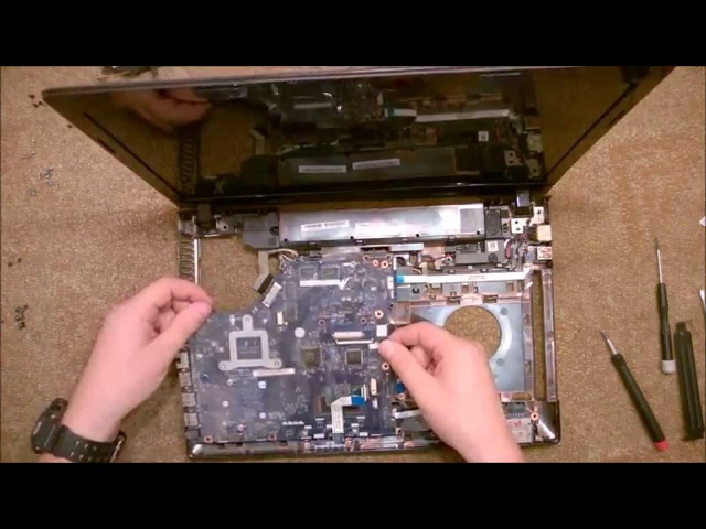 Как разобрать Ноутбук Lenovo G510, G500(Lenovo G510, G500 disassembly. How to replace HDD, RAM)