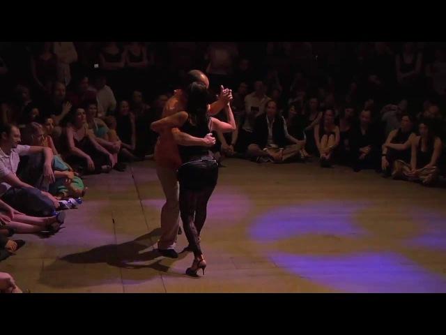 BTF 2010 - Show impro Vaudeville Horacio Godoy Moïra Castellano @ Brussels tango festival