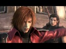 Final Fantasy VII Crisis Core Sephiroth vs Genesis and Angeal HD!
