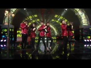 12.12.2010 [1nkigayo Special Stage] Jinwoon, Changmin, Key, Lizzy, SoYeon (T-ARA). Hyorin