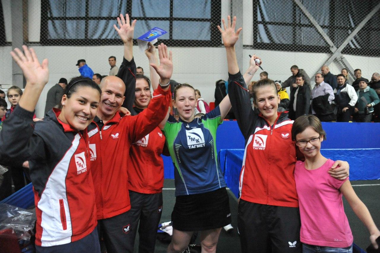 Таганрогские теннисистки прошли в 1/4 Кубка Европы
