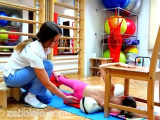 Упражнения от сколиоза кифоза