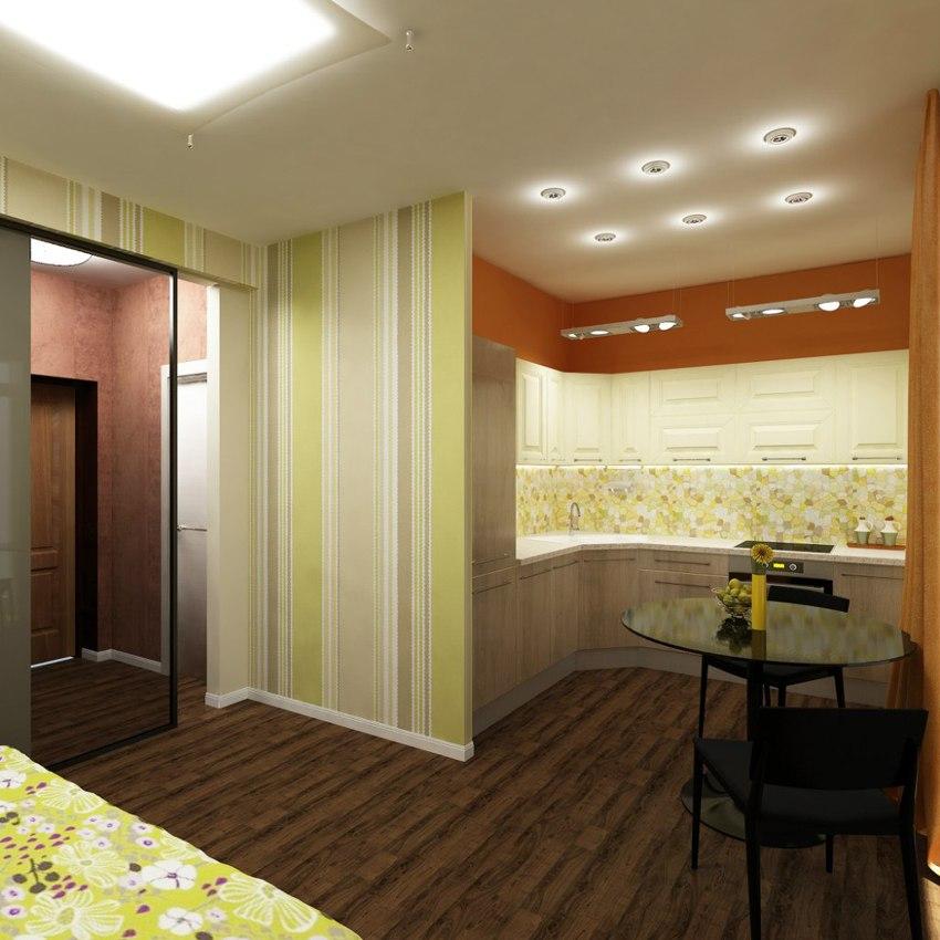 Проект квартиры 31 м.