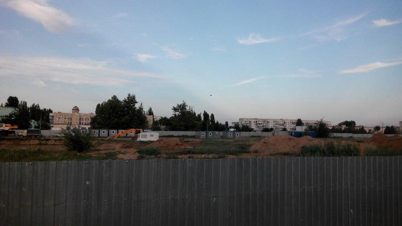 В Армянске заморозили постройку домов