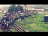 Eid Special Train 2015 Left Kamlapur Railway Station, Dhaka, Bangladesh