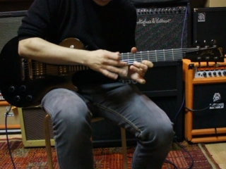 Gibson LP Gothic Morte