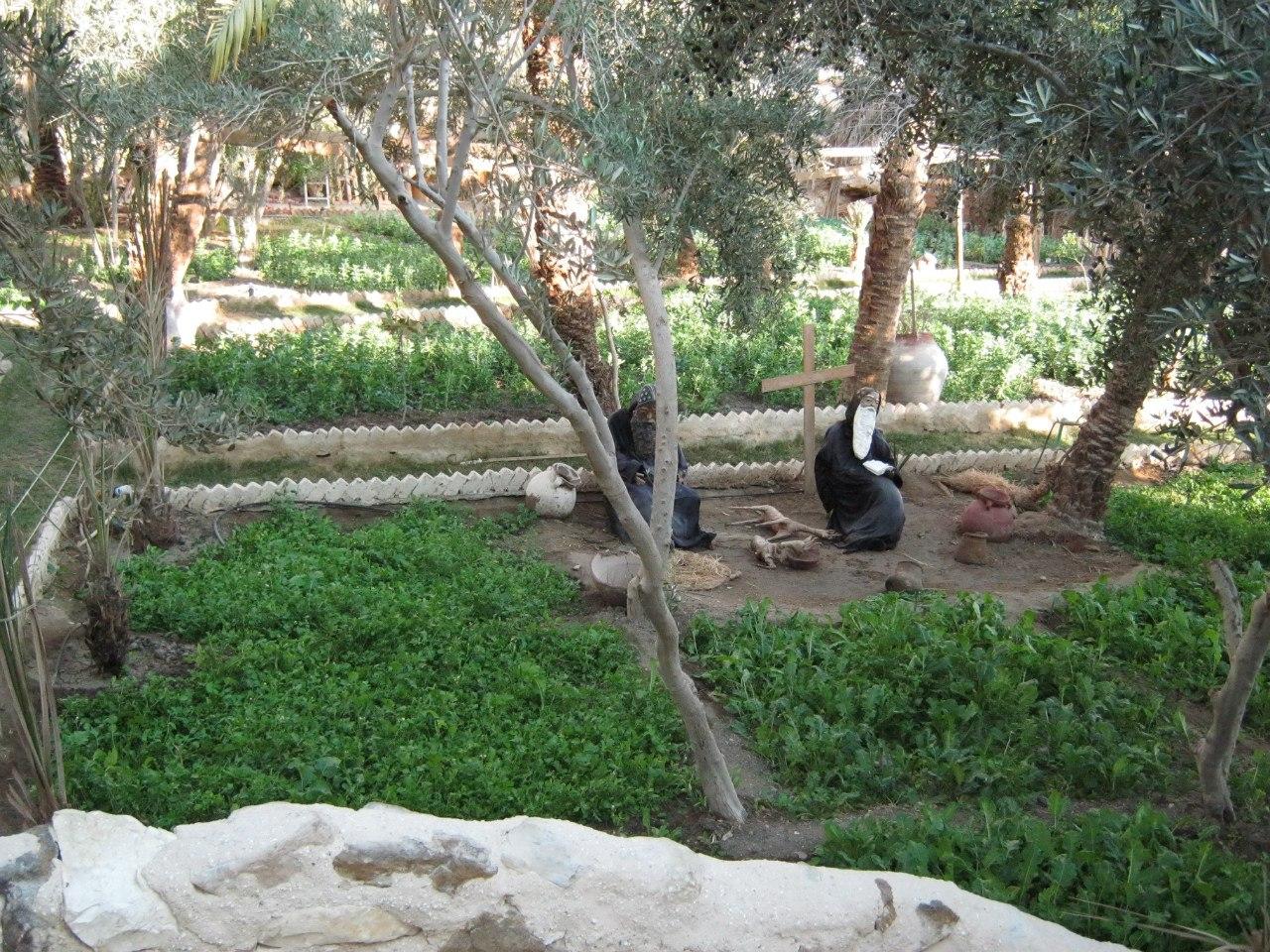 сад монастыря святого Павла