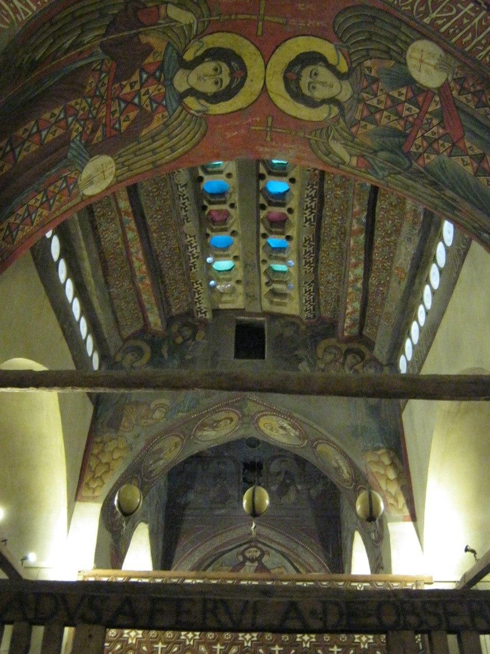 старейшая церковь в монастыре Святого Антония в Египте