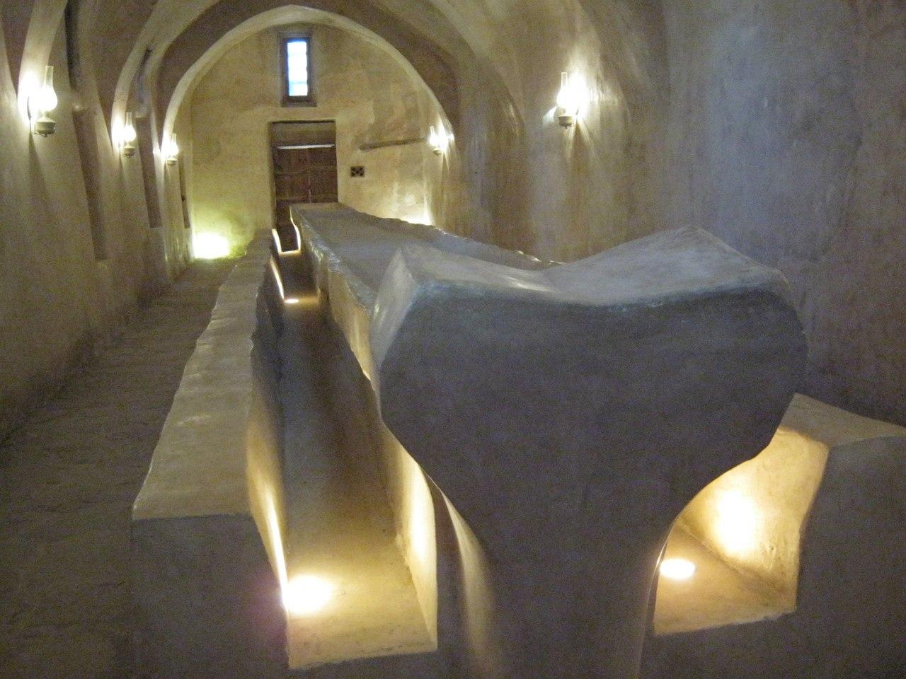 Древняя трапезная в монастыре Святого Антония в Египте