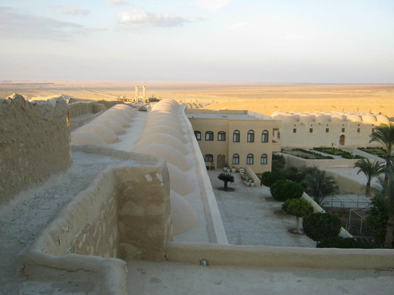 коптский православный монастырь в Египте