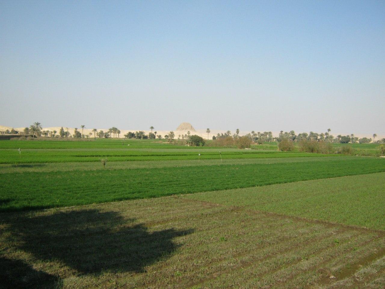 пирамида Эль Лахун - в оазисе Эль Файюм