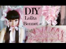 DIY Cute Baby Girl  Bonnet - Lolita Fashion