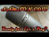 Samson C01U - USB микрофон для записи голоса и летсплеев