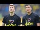 Reus Lewandowski Friends Forever 2015