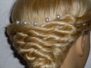 Простая причёска для средних волос/длинных, лёгкая вечерняя причёска, причёска на выпускной