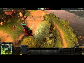 Dota 2 - Furaxis vs 12 year old 2k mmr player - Part 1/2
