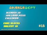 [Irrlicht 3D #10] 3ds из Blender'а. Работаем с моделями в 3D.