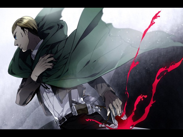 [SNK/AOT AMV] Erwin Smith - I'm Not Afraid to Die [MMV/AMV]