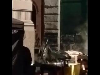 Меган Фокс на съёмках фильма «Черепашки-ниндзя 2» - 3