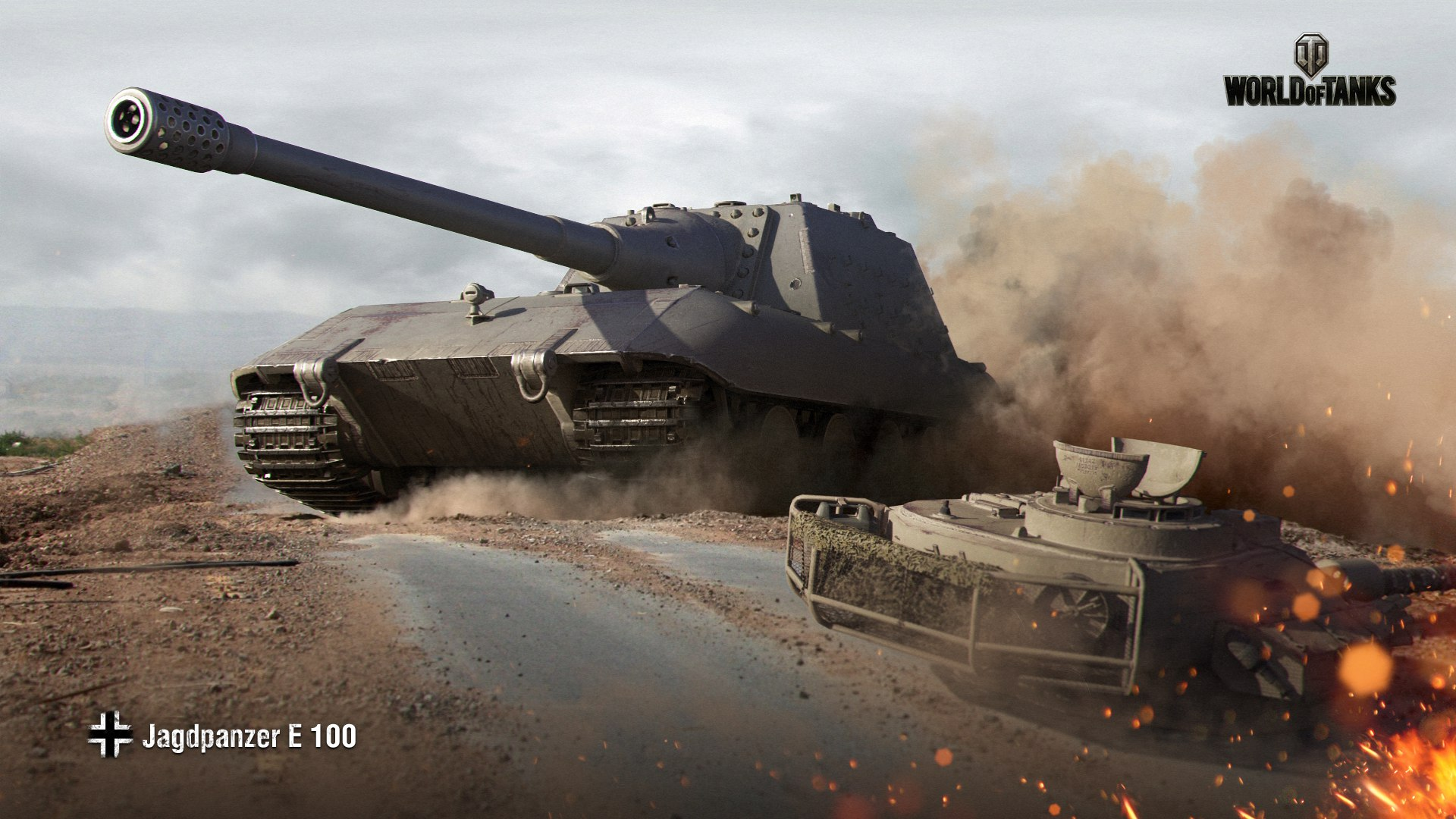 рисунок World Of Tanks Jagdpanzer E-100