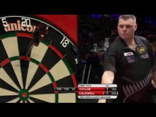 Phil Taylor vs Craig Caldwell (Perth Darts Masters 2015 / Round 1)