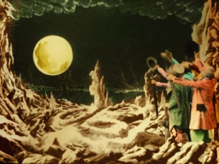 Viaje a la Luna  (color) 1902
