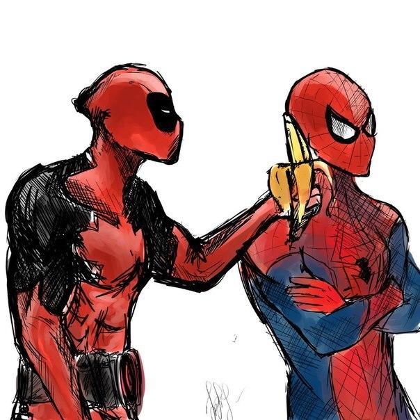 Дэдпул и человек паук фанфики