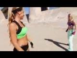 Kung Fu Girl vs Boxer Girl Fight Scene (Tekken _ Dead or Alive Style)