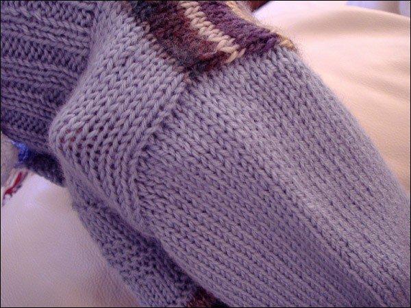 Вязание рукава сверху Записи в рубрике вязание