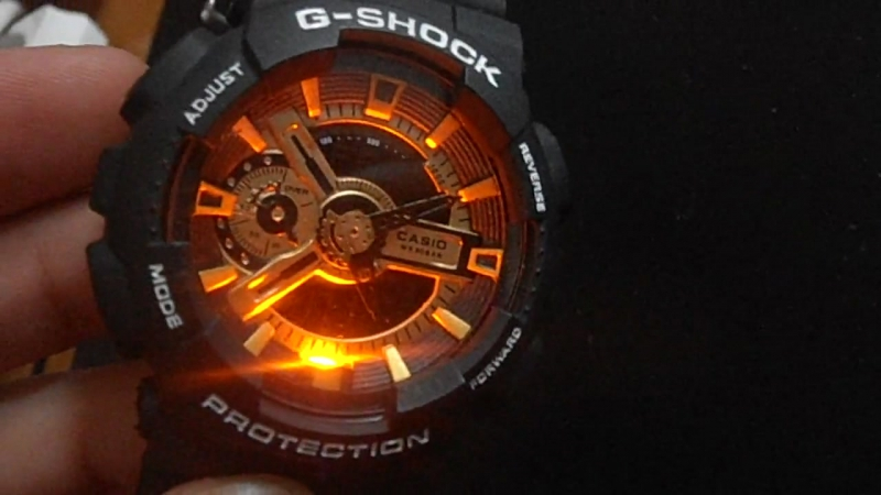 UndefinedCasio G-shock GA-110 Gold